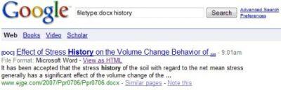 В Google Docs можно будет читать докуметы форматов Open XML