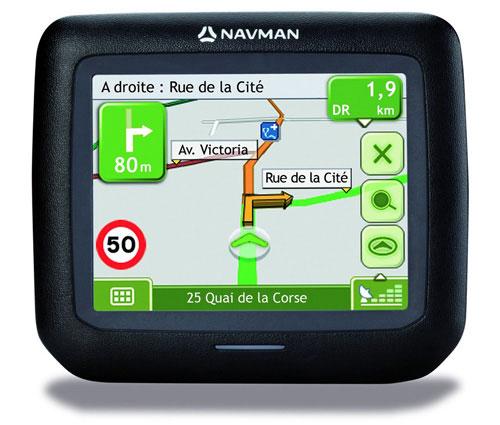 Дешевый GPS-навигатор Navman F15