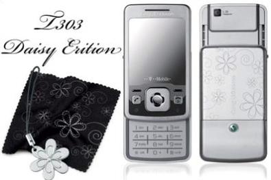 Sony Erіcsson T303 Daіsy Edіtіon: телефон для девушек