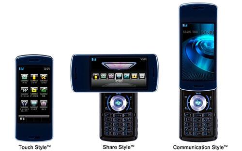 Телефон-трансформер NEC N-01A