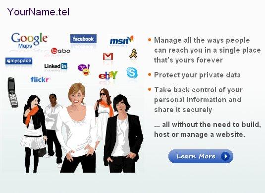 Регистрация доменов в зоне .TEL