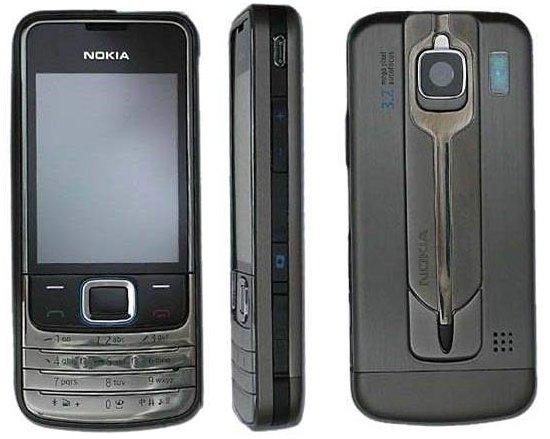 Nokia 6208 Classic с сенсорным экраном