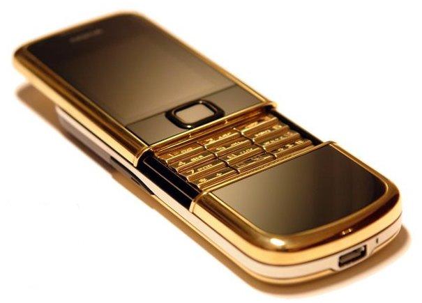 Nokіa 8800 Gold Arte - телефон из кожи и золота