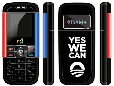 В честь Барака Обамы выпустили телефон