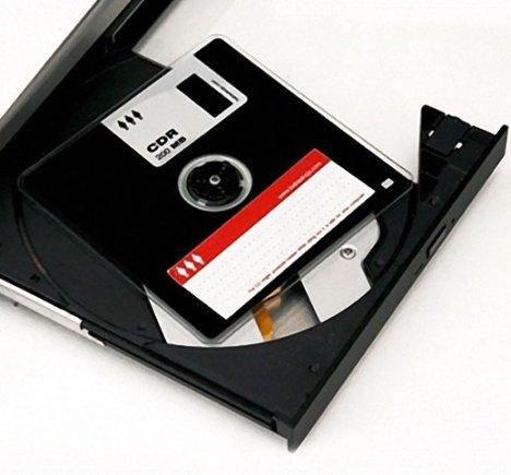 CD-R в виде дискеты