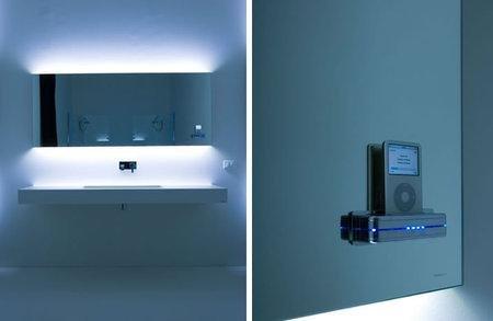 MP3-зеркало для ванной