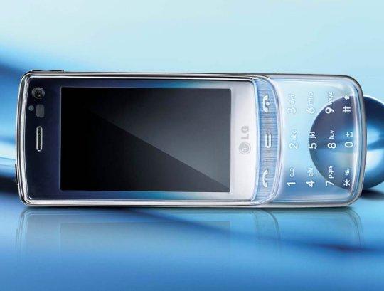 LG-GD900 - прозрачный телефон