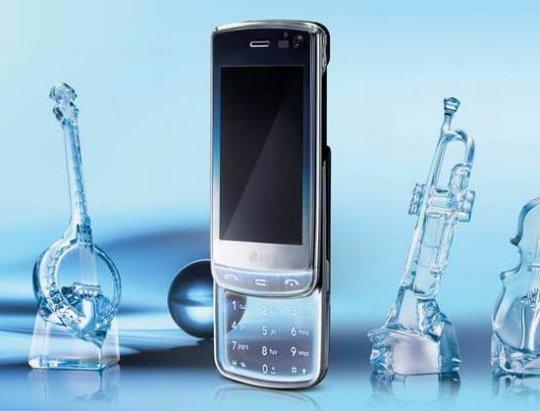 LG-GD900 — прозрачный телефон