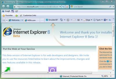 Іnternet Explorer 8 обогнал по популярности Google Chrome