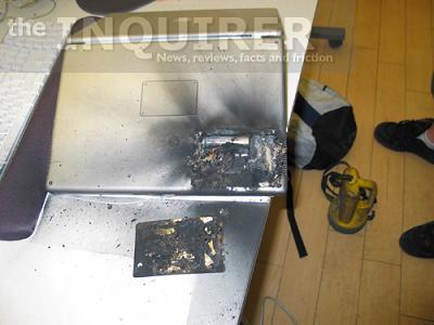 Как взрываются ноутбуки Apple Powerbook