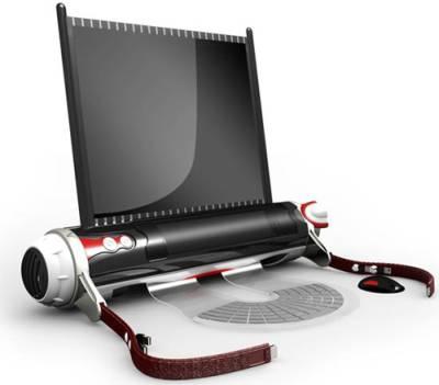 D-Roll - свертываемый ноутбук