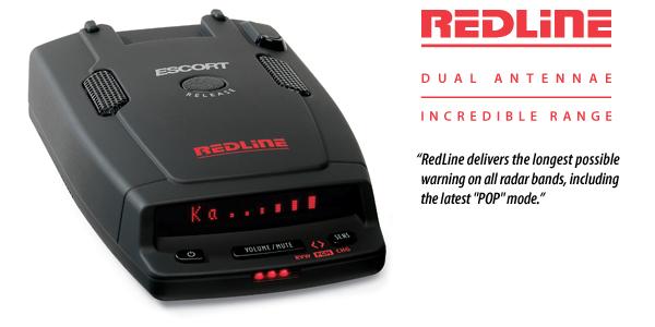 Детектор радаров Escort Redline
