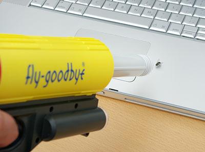 Мухоловка Fly-Goodbye Bug Vacuum Gun