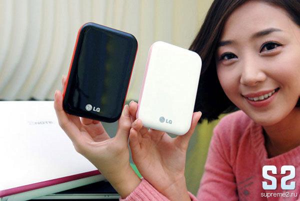 Маленький жесткий диск - LG XD5
