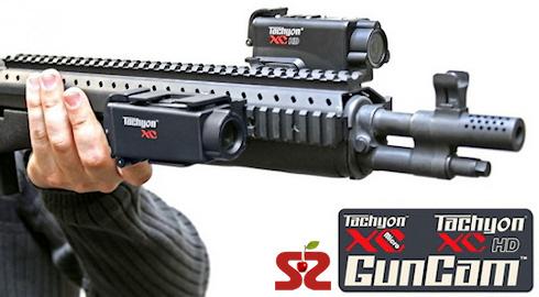 Видеокамера Tachyon XC HD снимает стрельбу «от первого лица»