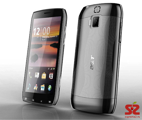 Смартфон от Acer c 4,8″ дисплеем