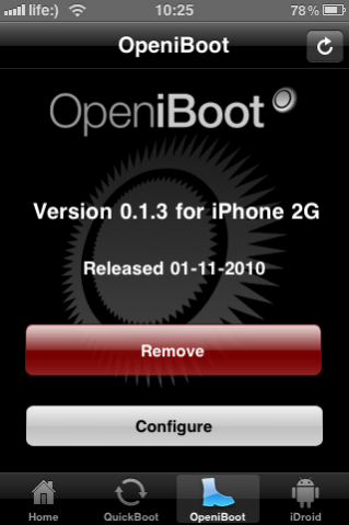 Android OS 2.2 на iPhone 2G/3G