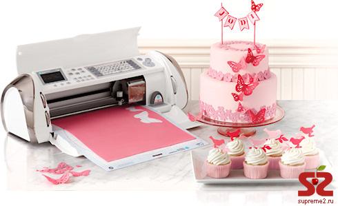 Cricut Cake — принтер для сладостей