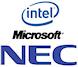 Intel, Microsoft и NEC объявили о партнерстве