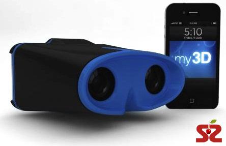 3D очки для iPhone и iPod
