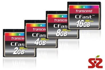 Скоростные карты памяти Transcend CFast 500