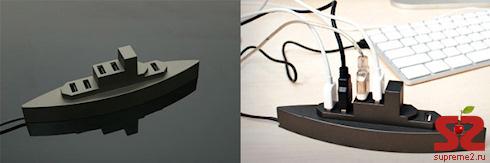 USB-хаб в виде линкора