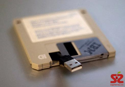 USB-флешка в виде 3,5″-дискеты