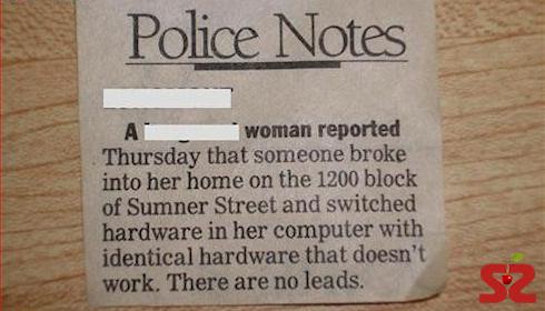Вор вломился в дом и «проапгрейдил» компьютер