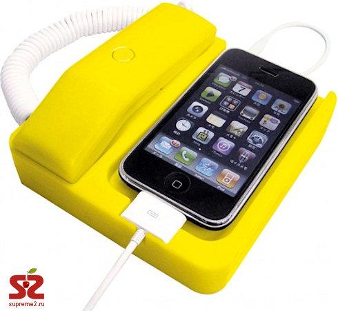 Phone X — док-станция в стиле ретро