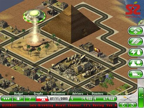 SimCity Deluxe на iPad