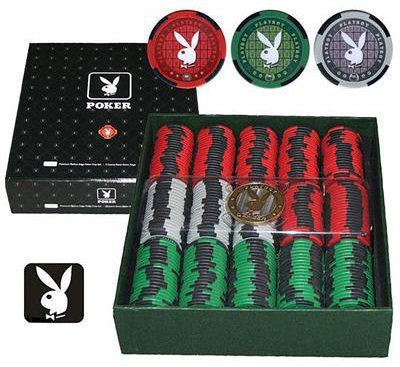 Фишки для покера Playboy