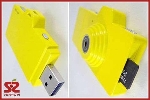 Fuuvi Pick - флешка-камера