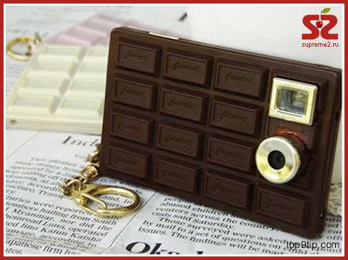 Фотокамера в шоколаде
