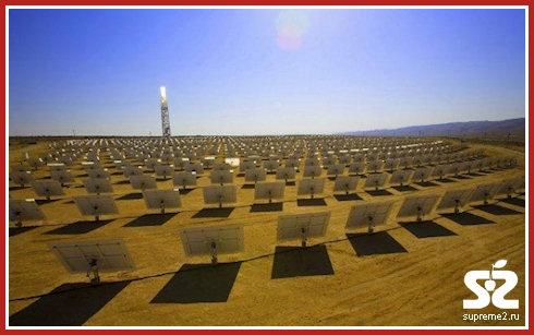Google инвестирует в солнечную электростанцию