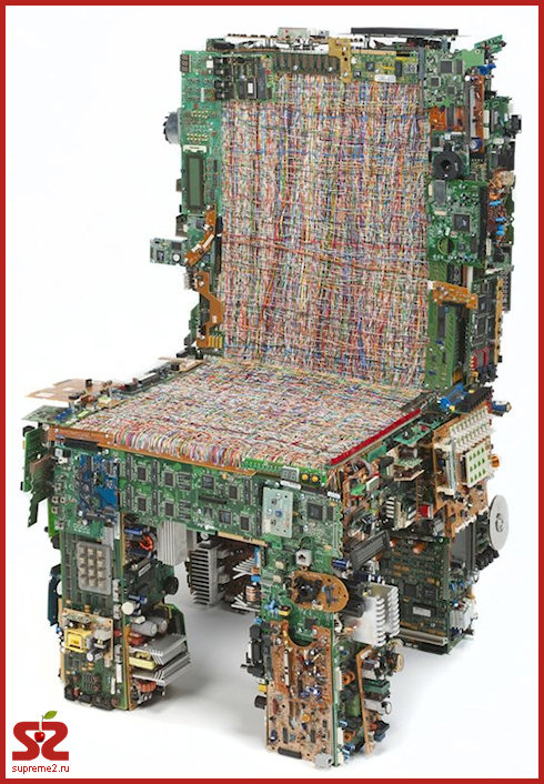 Кресла из микросхем