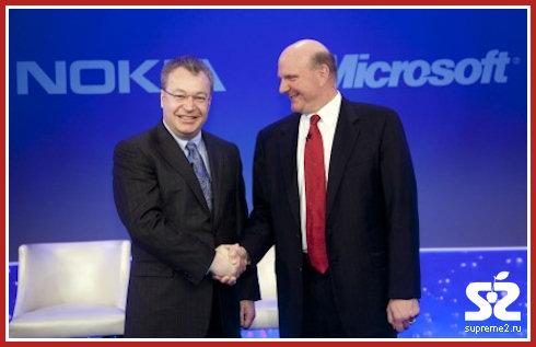 Nokia официально стала партнером Microsoft