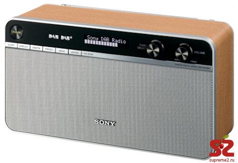 Радиоприемник в стиле ретро от Sony