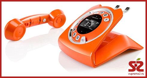 Sixty - стильный дисковый телефон