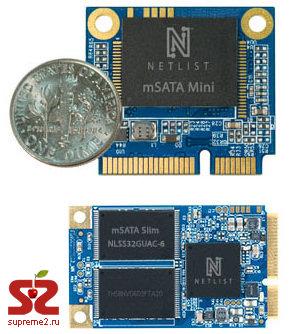 SSD-модули с mSATA-интерфейсом