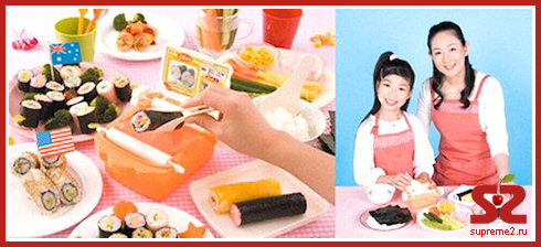 Гаджет для производства суши