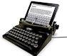 Печатная машинка The Typescreen для iPad