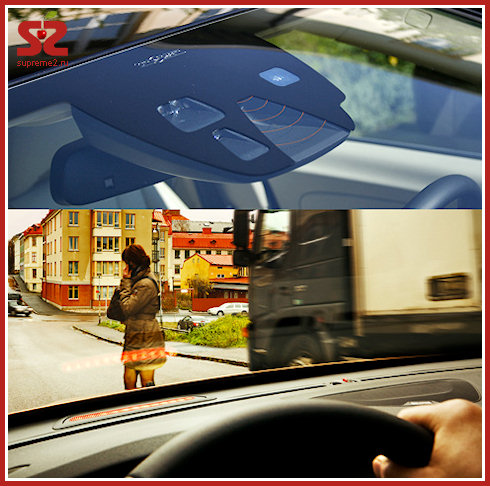 Volvo V60 - новое слово в безопасности