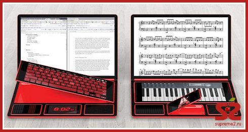 Bento — ноутбук из пяти модулей