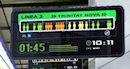 Полезное цифровое табло для метро