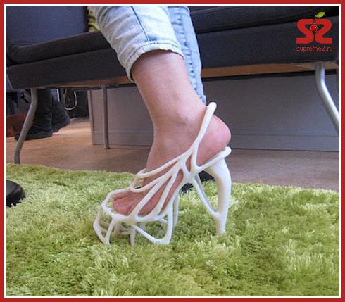 Обувь, распечатанная на принтере