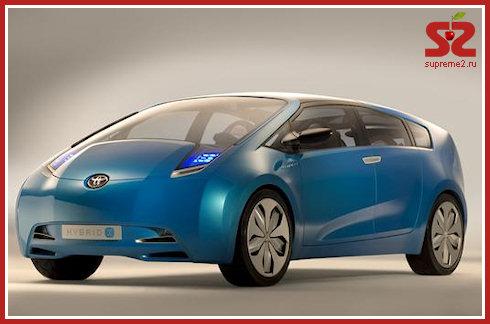 Toyota Prius с зарядкой от розетки