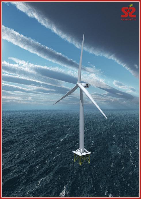 Vestas представила новый мощный ветрогенератор