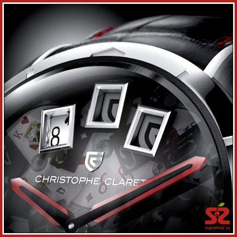 Часы с блэкджеком из Швейцарии от Christophe Claret — 21 Blackjack