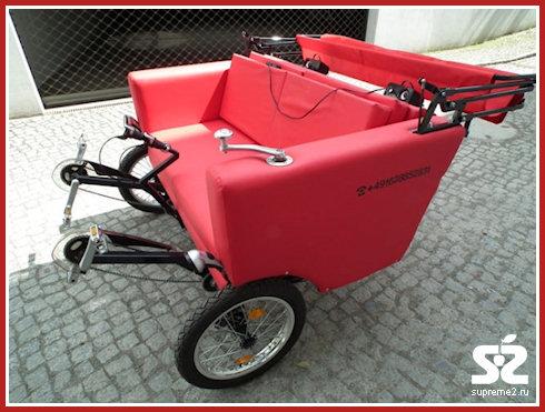 Диван-велосипед