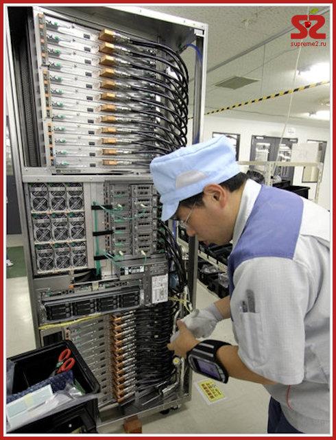 Fujitsu K — самый быстрый компьютер в мире